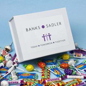 Branded Large Deluxe Sweet Box