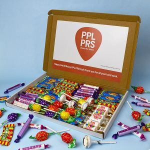 Branded Mail Order Sweet Box